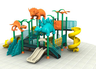 China Dinosaur Style Children'S Play Park Equipment With Brilliant Colors 24CBM supplier