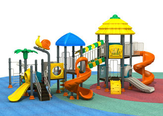 Garden style with great quantity of colors galvanized steel pipe outdoor playground supplier for display TQ-ZR1305