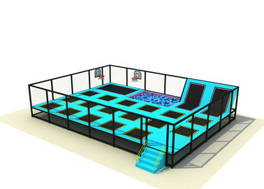 China Simple Design Baby Trampoline Park , Large Indoor Trampoline Park KP160624-4 supplier