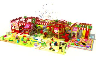 China Fun Kids Indoor Playground Equipment Candy Theme Colorful Children Play Set supplier