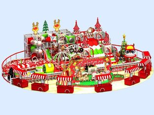 China Merry Christmas Theme Children Indoor Playground Equipment Colorful Fun Play Set supplier
