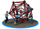 China Polygonal Shape Rope Climbing Structure With Long Warranty Period KP-PW033 company