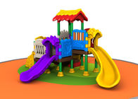 China Outside Kids Plastic Playground Equipment For Kindergarten Simple Construction company