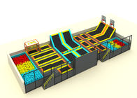 China Indoor Trampoline Place / Trampoline Amusement Park CE ISO TUV SGS Certificates company