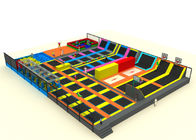 Large Scale 3--12 Age Kids Trampoline Park With Every Kinds Of Toys KP161008-2