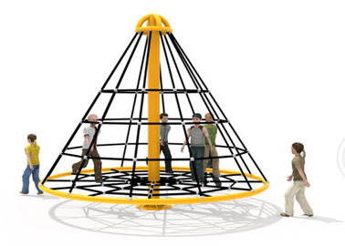 China Soft Safe Reusable Rope Climbing Structure For Residential Area KP-PW024 factory