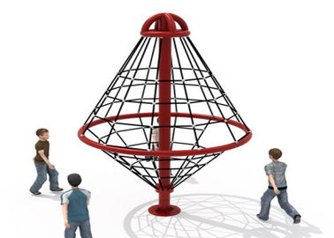 China Outdoor Climbing Rope Structures / Kids Climbing Net Easy To Install  KP-PW025 factory