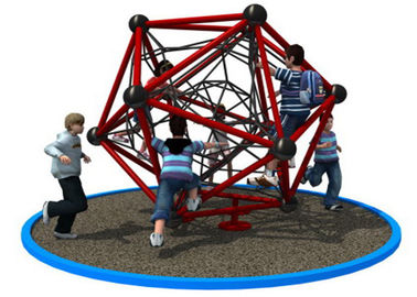 China Polygonal Shape Rope Climbing Structure With Long Warranty Period KP-PW033 distributor