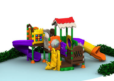 China Environmental Material Plastic Playground Sets For Toddlers 580x450x320cm factory