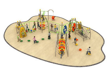 China Commercial Grade Kids Rope Playground Equipment High Security KP-K005 factory