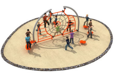 China 580*400*250cm Rope Climbing Frame Playground For Open Space TQ - TN501 factory