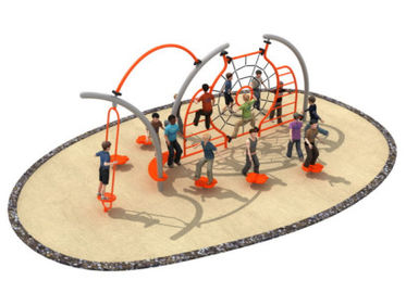 China 600*350*250cm Rope Play Structures Outdoor Playground Middle Size For Grass Land TQ-TN503 factory