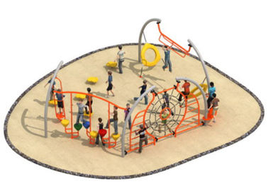 China Luxury Style Rope Playground Equipment Climbing Structure Customized Size distributor