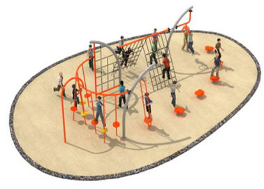 China 780*400*250cm Environmental Protection Rope Playground Equipment For Fashion Design distributor